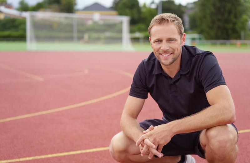 Zufriedener Sportplatzbetreiber spart Kosten